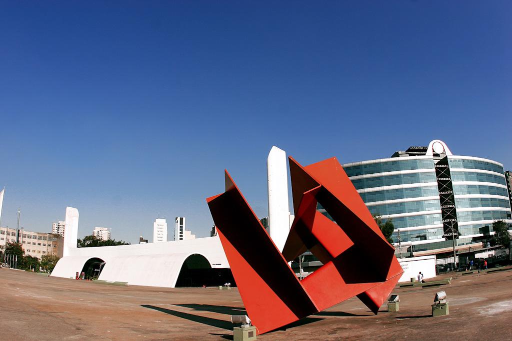 O conjunto arquitetônico tinha como objetivo estreitar as relações políticas, econômicas, sociais e culturais do Brasil com os demais países da América Latina. Foto: Caio Pimenta/SPTuris.