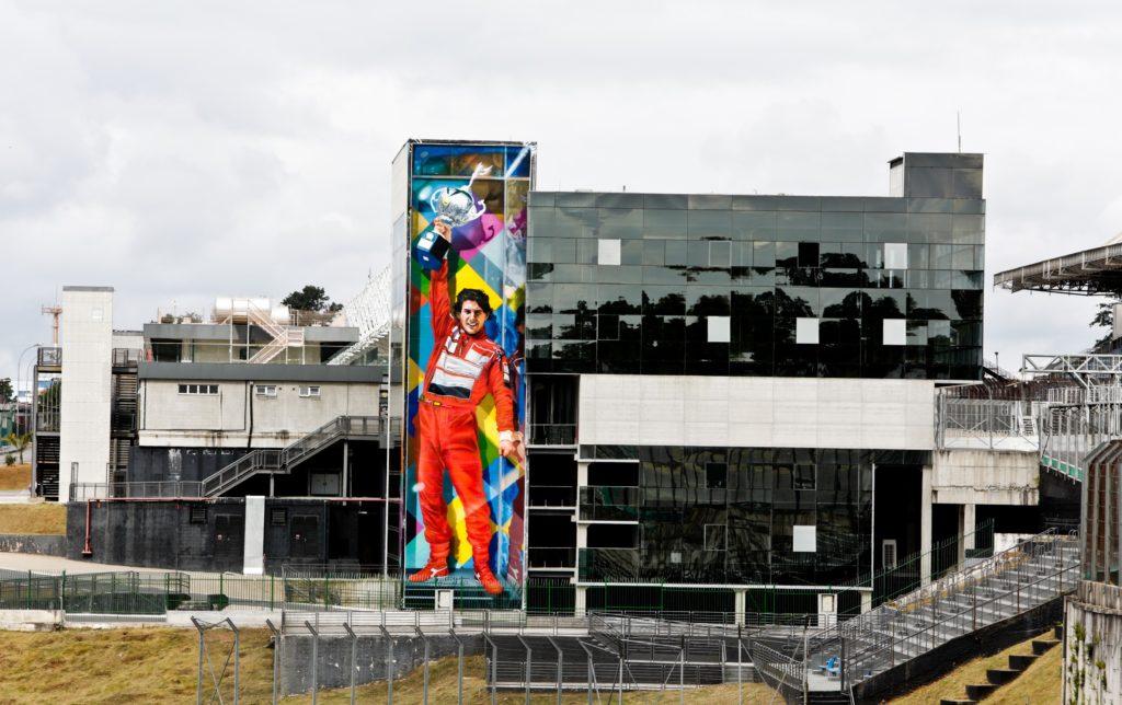 Mural de Eduardo Kobra em homenagem a Senna tem lançamento virtual no aniversário de Interlagos