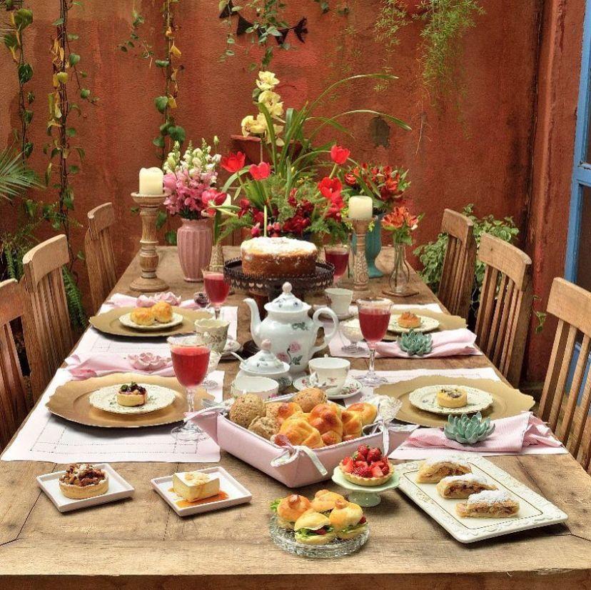Casa de chá Teakettle, ótima opção de passeio na primavera